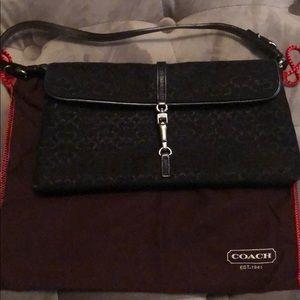 Rare Coach evening shoulder purse